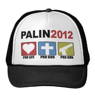 Palin 2012 gorras de camionero