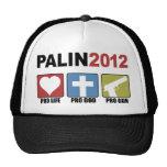Palin 2012 gorro de camionero