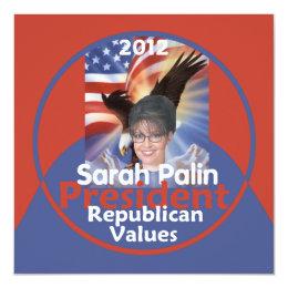 Palin 2012 Invitation