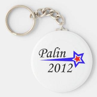 Palin - 2012 basic round button keychain