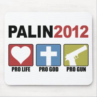 Palin 2012 mouse pad