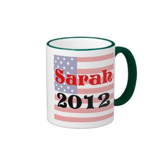 Palin 2012 ringer coffee mug