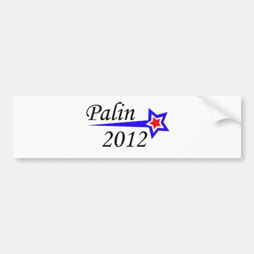 Palin - 2012 pegatina para auto