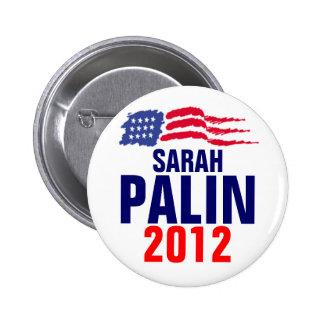 Palin 2012 pin redondo de 2 pulgadas