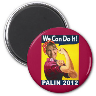 Palin 2012 Rosie the Riveter Poster Magnet