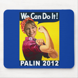 Palin 2012 Rosie the Riveter Poster Mouse Pad