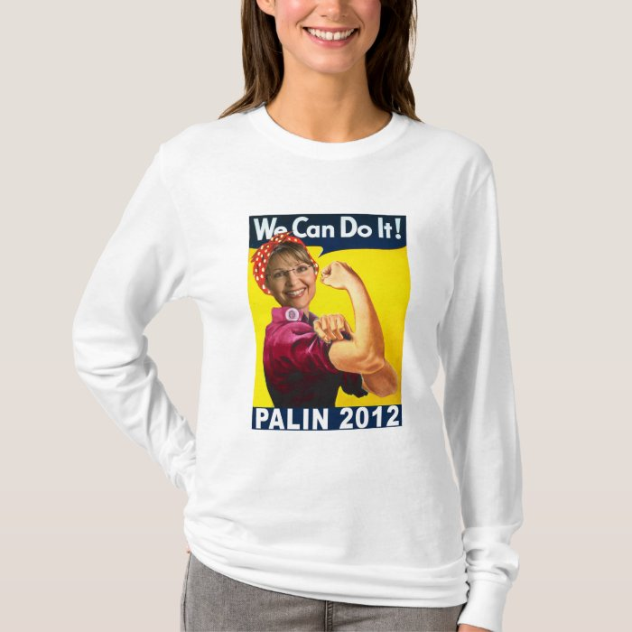 Palin 2012 Rosie the Riveter Poster T-Shirt