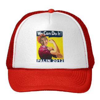 Palin 2012 Rosie the Riveter Poster Trucker Hat