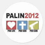Palin 2012 sticker