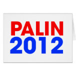 Palin 2012 tarjeton