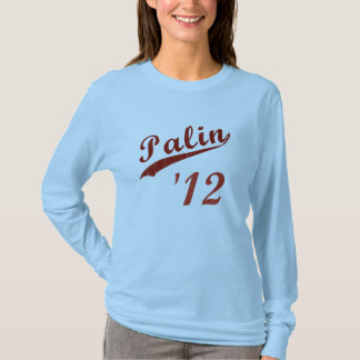 Palin 2012 Vintage Baseball Long Sleeve Shirt