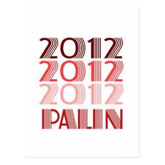 PALIN 2012 VINTAGE POST CARDS
