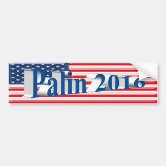 PALIN 2016 Bumper Sticker, Sea Blue 3D,Old Glory Car Bumper Sticker
