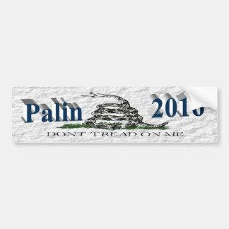PALIN 2016 BumperSticker, OceanBlue3D, Gadsden Etiqueta De Parachoque
