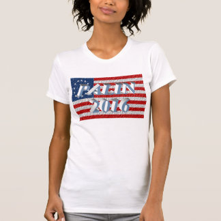 PALIN 2016 Shirt, Powder Blue 3D, Betsy Ross T-Shirt