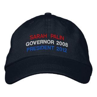 Palin, ahora y más adelante gorra de beisbol