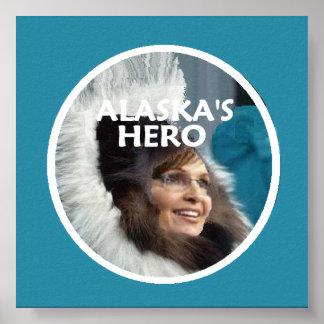 Palin ALASKA Poster