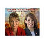 Palin Bachmann 2012 Postales