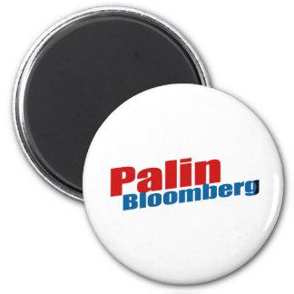 Palin Bloomberg Imán Redondo 5 Cm