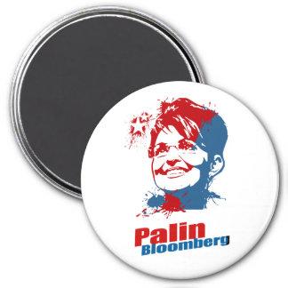 Palin Bloomberg Imán Redondo 7 Cm