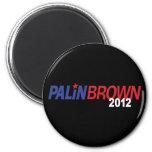 Palin Brown 2012 Fridge Magnets