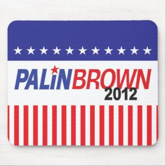 Palin Brown 2012 Mouse Pad