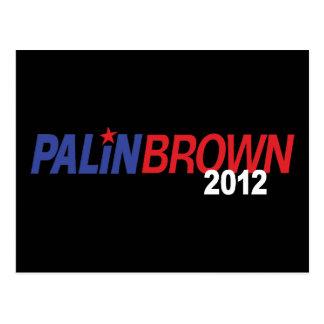 Palin Brown 2012 Postcard