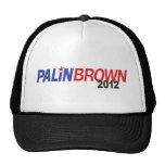 Palin Brown 2012 Trucker Hats