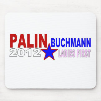 Palin-Buchmann 2012 (Ladies First) Mouse Pad