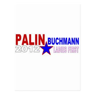 Palin-Buchmann 2012 (Ladies First) Postcard