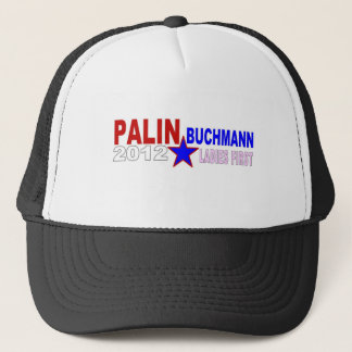 Palin-Buchmann 2012 (Ladies First) Trucker Hat