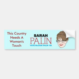 Palin Bumper Sticker