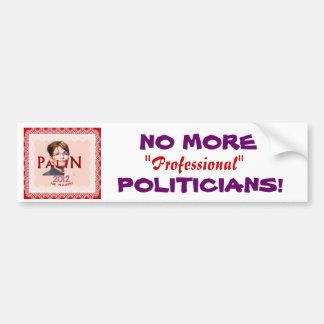 Palin Bumpersticker Bumper Sticker