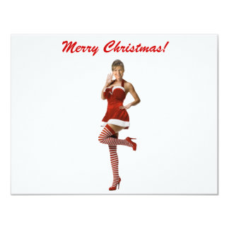 Palin Christmas(t shirt, xmas cards, buttons) 4.25x5.5 Paper Invitation Card