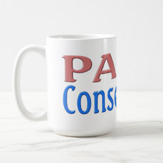 Palin Conservative Mug - pink