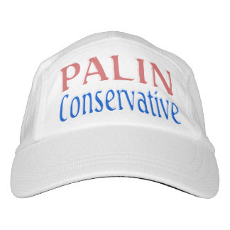 Palin Conservative Performance Hat 2, pink & blue