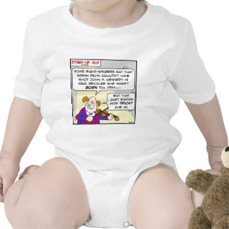 Palin de pie John F. Kennedy de Sarah del Trajes De Bebé