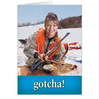Palin Deer Card