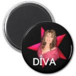Palin Diva Magnet Magnets