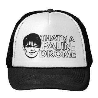 Palin Drome Trucker Hat