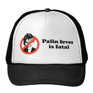 Palin fever is fatal hats