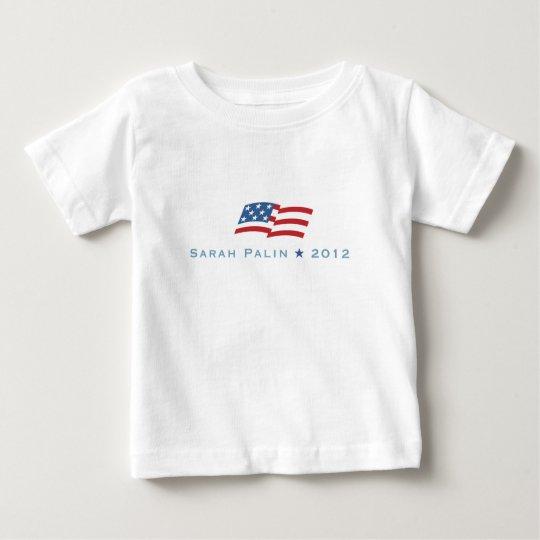 Palin flag baby T-Shirt