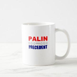 Palin For Precedent Coffee Mugs