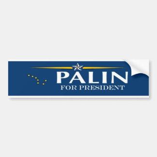 palin for pres bumper sticker