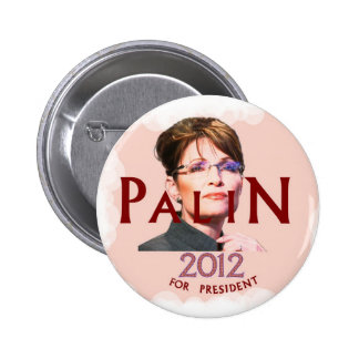 Palin for President 2012 Button