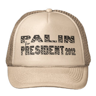 Palin for President 2012 Retro Trucker Hat