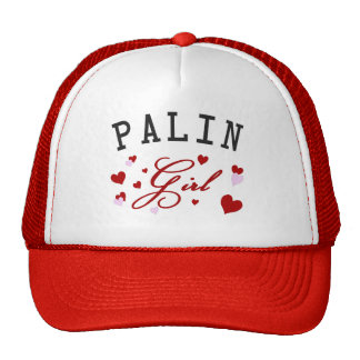 Palin Girl Trucker Hat