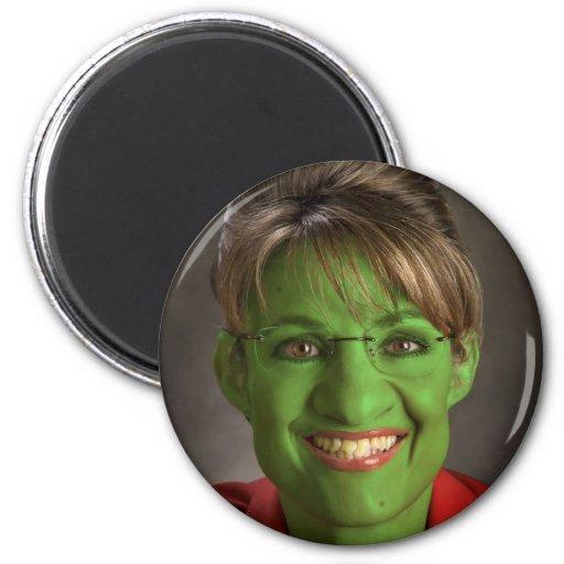 Palin Goblin 2 Inch Round Magnet