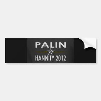 Palin/Hannity2012 Car Bumper Sticker
