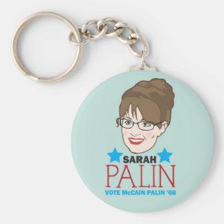 Palin Illustrated Keychain